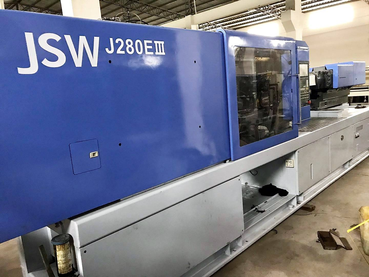 JSW280t (J280EIII) used Injection Molding Machine Featured Image