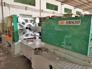 Taiwan CH Supermaster SM650 used Plastic Injection Molding Machine