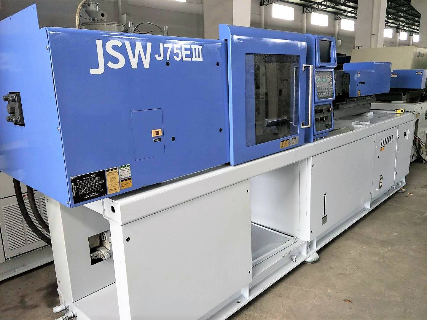 JSW75t (J75EIII) used Plastic Injection Molding Machine Featured Image