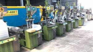 Kinki 20t used Vertical injection molding machines