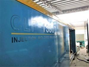 Chuan Lih Fa CLF-1380 used Injection Molding Machine