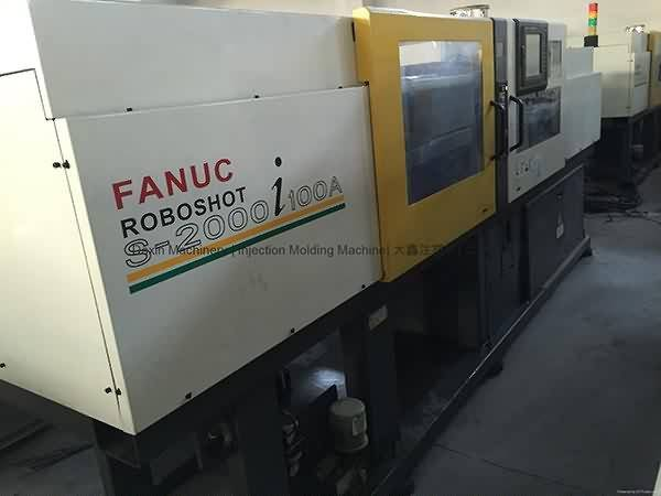 Fanuc 100t All-Electric used Injection Molding Machine