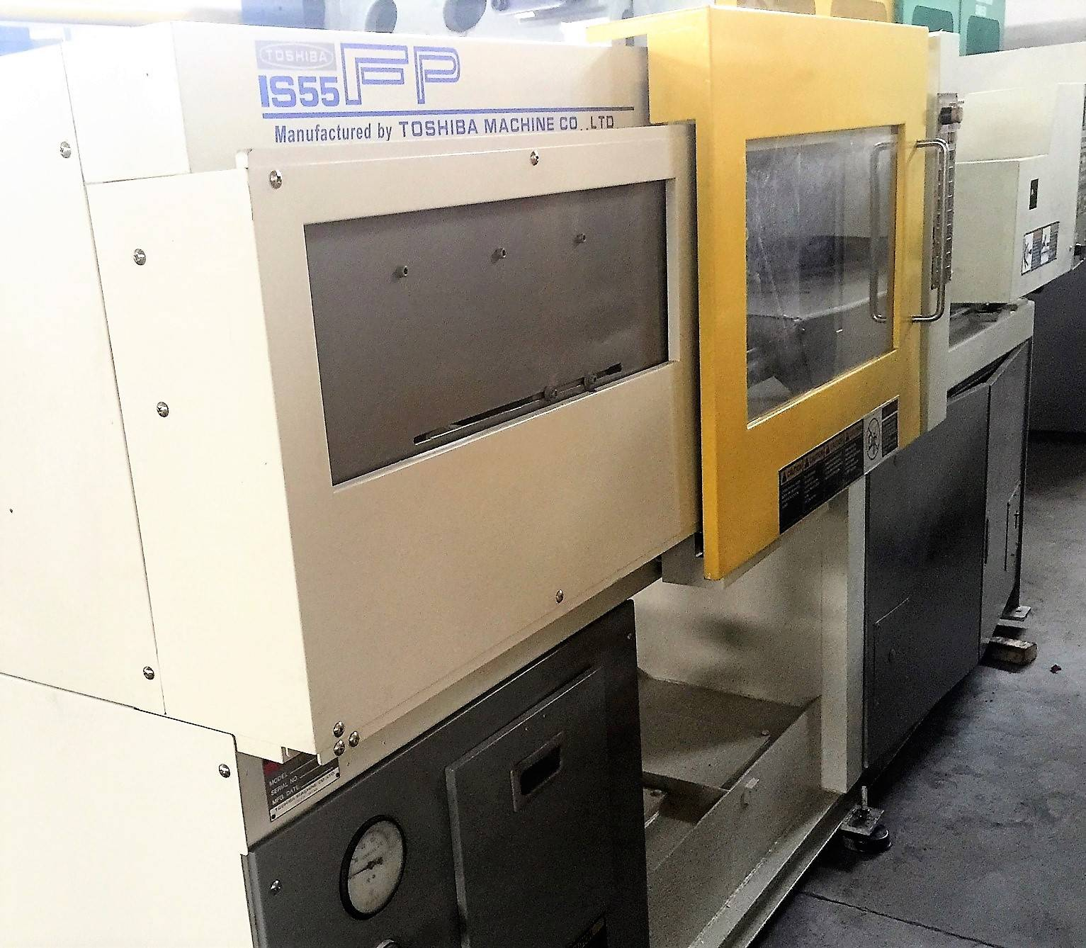 Toshiba 55t (IS55FP) used Injection Molding Machine Featured Image