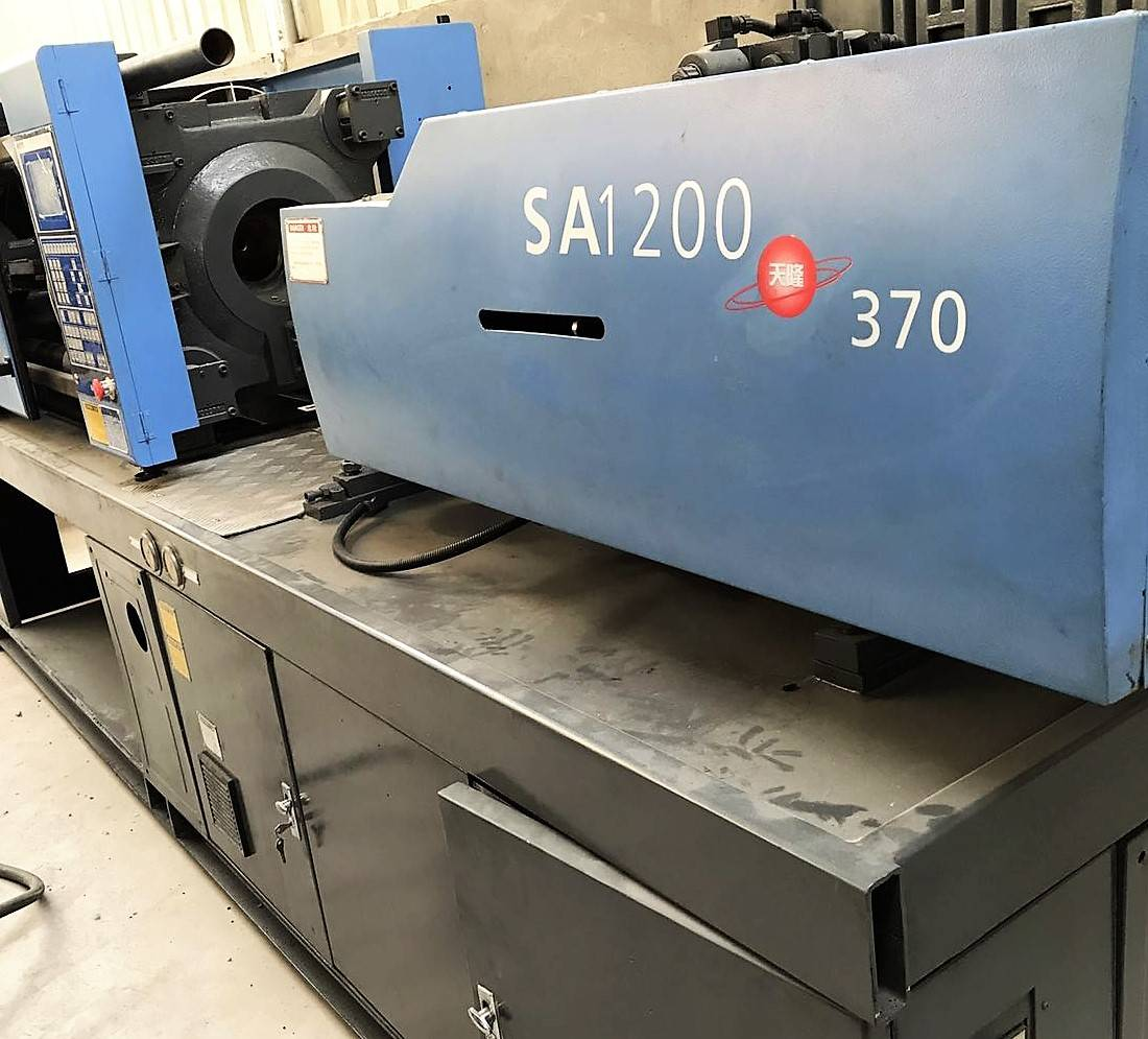 Haitian 120t (SA120) used Injection Molding Machine.