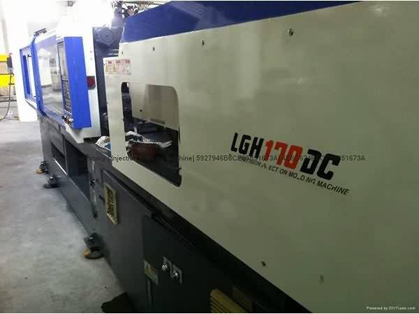 LG 170t LGH170DC two color used Injection Molding Machine