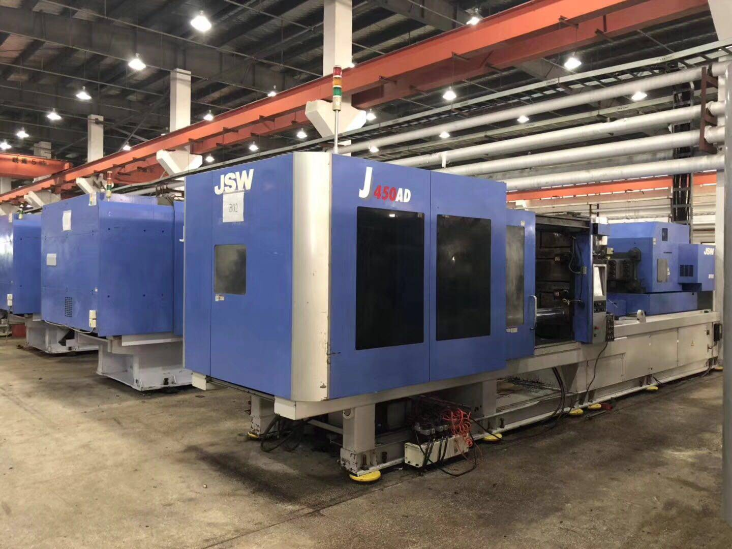 JSW450t (J450AD) all-electric used Injection Molding Machines Featured Image