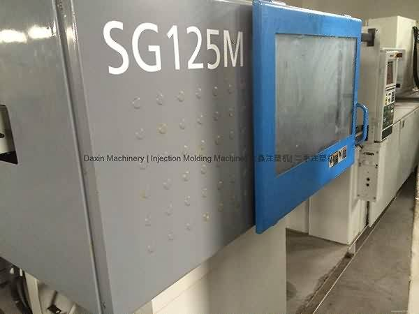 Sumitomo SG125M Uzita Injection Molding Machine (alta rapido)