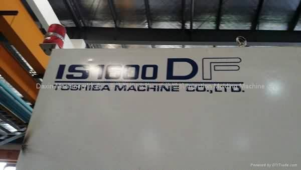 Toshiba IS1600DF Injection Molding Machine