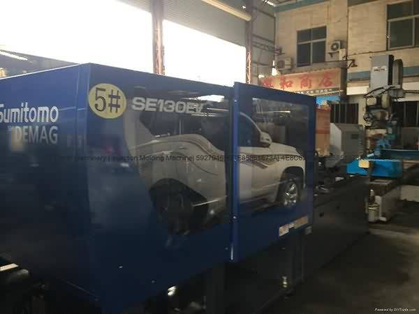 Sumitomo 130t All-Electric used Injection Molding Machine Featured Image