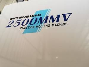 Mitsubishi 2500t used Plastic Injection Molding Machine