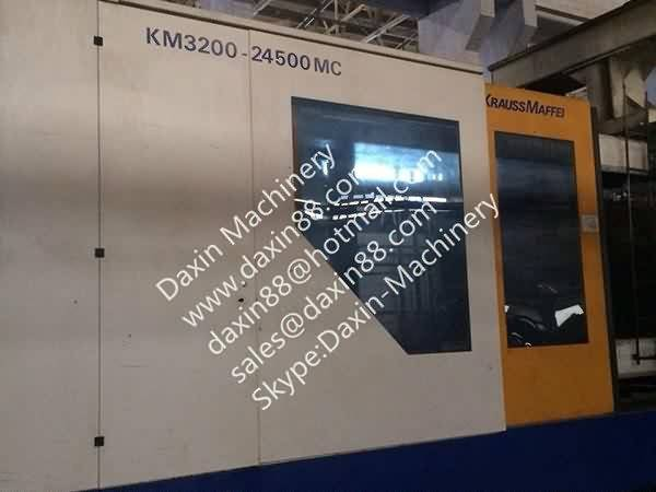 Krauss Maffei 3200t used Injection Molding Machine
