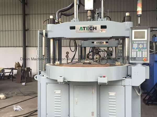 ATECH 120t (rotary table) used  Vertical Injection Molding  Machine Featured Image