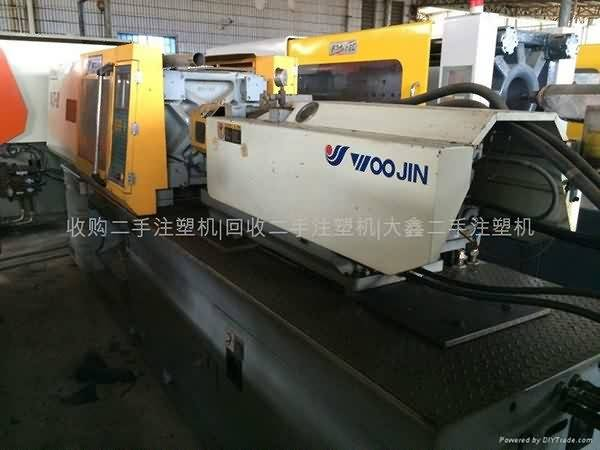 Korean Woojin 120T përdorur Injection derdhur Machine