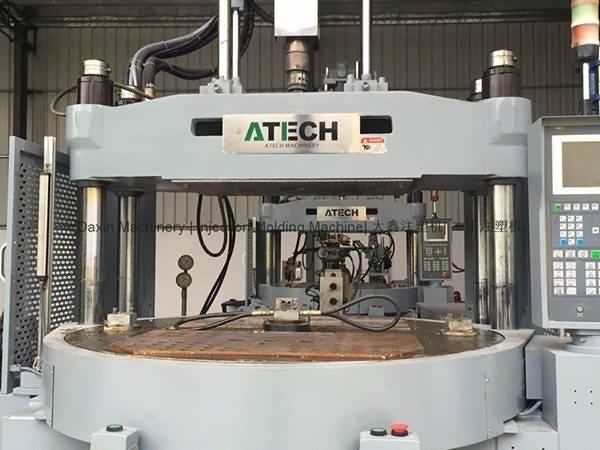 ATECH 120t (rotary table) used  Vertical Injection Molding  Machine