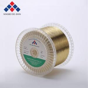 Clean Cut Brass Wire