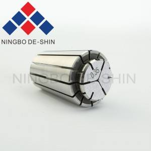 Collet for fixing electrode tube 0.35mm