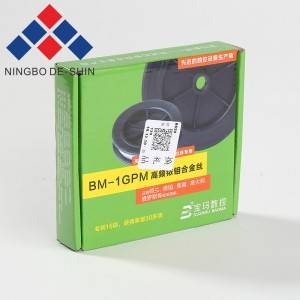 BM-1GPM High Frequency Iridium-Molybdenum Alloy Wire 0.08-0.25mm