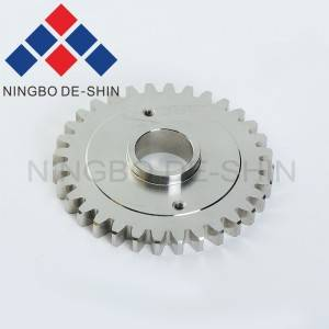 Mitsubishi M420-2 Gear for M411, M412 roller X088D449H02, DCC7700, 215491