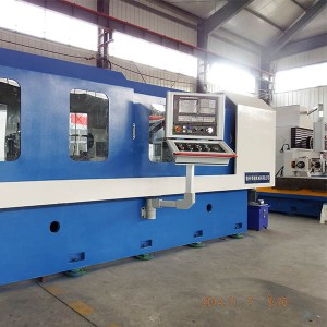 Double spindle CNC gun drilling machine