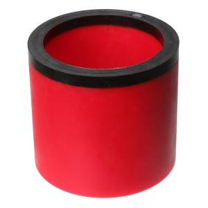 High Performance Red PU Semi-Finished Tube PU Pipe
