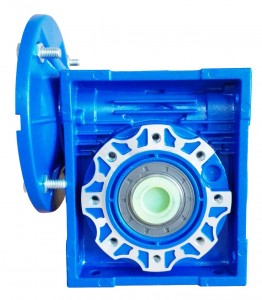 NMRV Series 0.9 – 7.5 KW worm gear gearbox for chemical industry