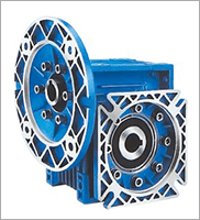 Output speed 14-186.7 rpm, power 0.75-4 kw, NMRV drive worm gearbox