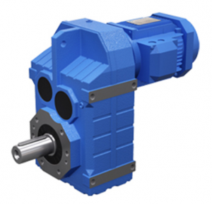 3 stage 0.12-200 kw parallel shaft helical gear reducer for conveyers