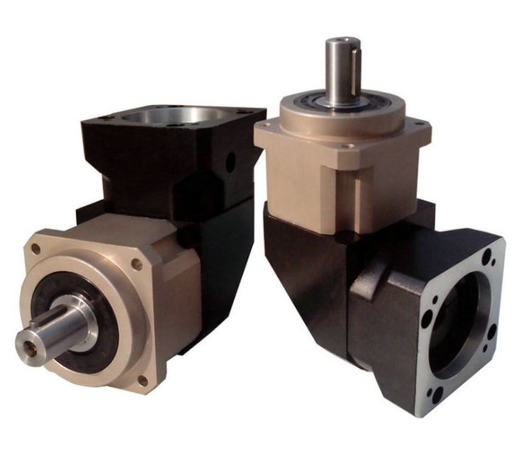 High precision right Angle planetary reducer miniature right Angle planetary reducer helical gear reducer