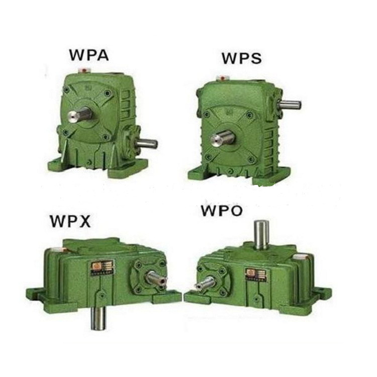 WPA transmission gear reducer horizontal gear box vertical worm gear box