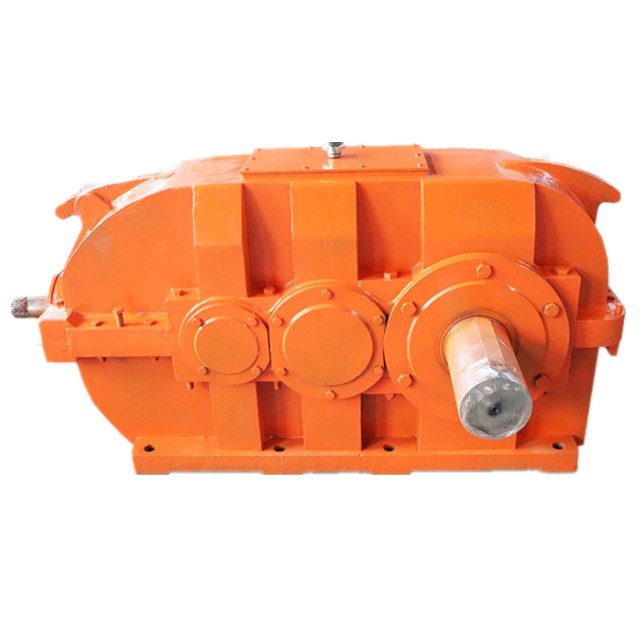 high quality zq 500 gear reducer  zq 350 gearbox soft gear surface gearbox