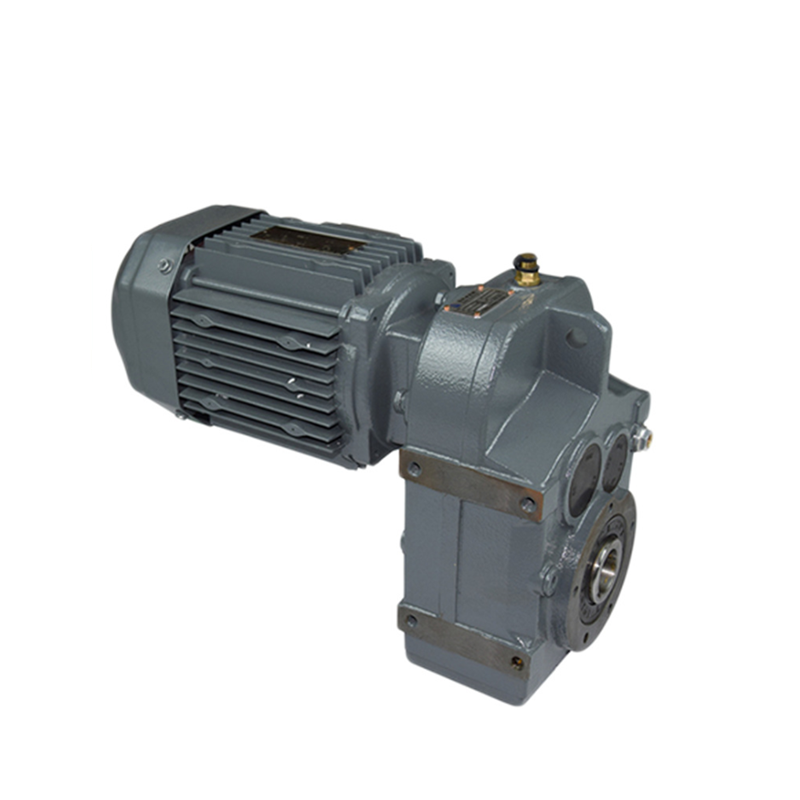 DEVO F Series  FA97  parallel shaft helical reduction gearbox with 10HP motor