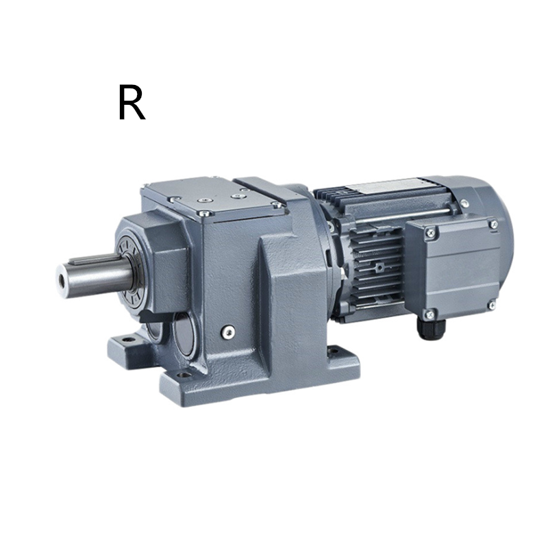 Jiangsu DEVO R series helical speed reducers for electric motors