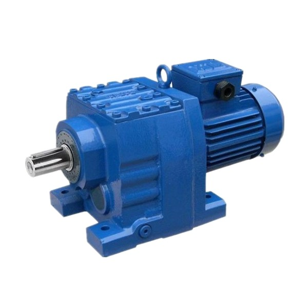 Devo R Series foot mounted helical gear reducer