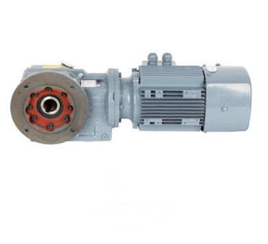 Best price flange mounted  KAF series hard tooth surface KAF47 helical bevel gearbox motor for mining industry