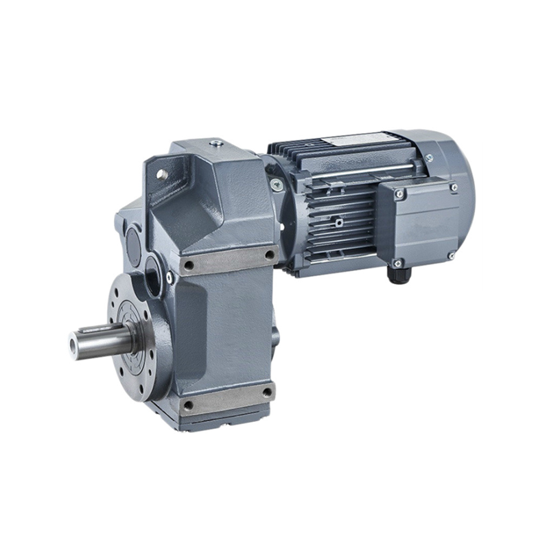 K/S/F/R  series helical spiral bevel worm horizontal gear reducer  with Centrifuge