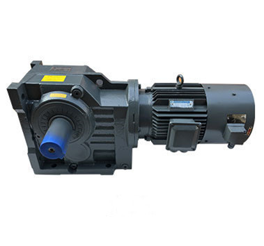 Reliable and durable helical gear reducer K series high  torque gearbox  helical gear motor  and worm gear horizontal reducer
