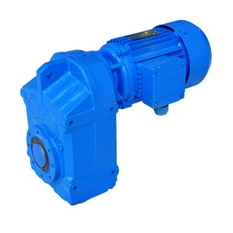 Debosyon R Series rx 37 ~ 157 estriktong ngipon flank single-stage tiil-mingkayab helical gear reducer