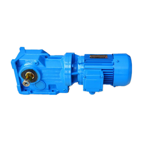 0.18~200kw Rated Power and 200-50000 Output Torque helical bevel gear motor reductor