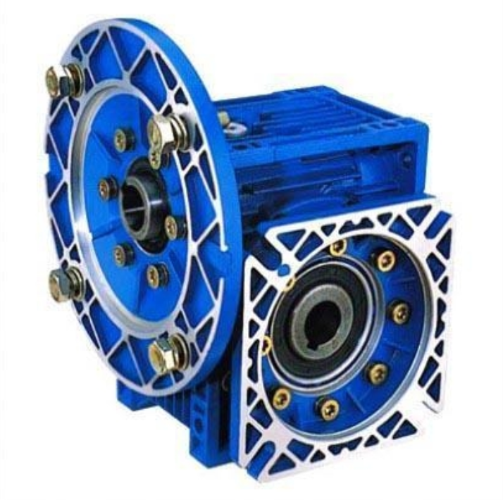 NMRV90 hollow shaft, F2 output flange worm-gear gearbox with IEC standard motor flange