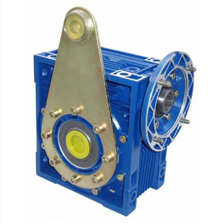 NMRV63 hollow shaft output flange, TA torque arm worm-gear gearbox with IEC standard motor flange