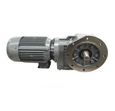 DEVO  KSRF series hard tooth surface helical gear reductor  KF97 gear motor with 7.5hp motor