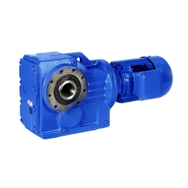 High quality  K series reduction gearbox  KAF77 helical bevel gearbox motor for mining industry