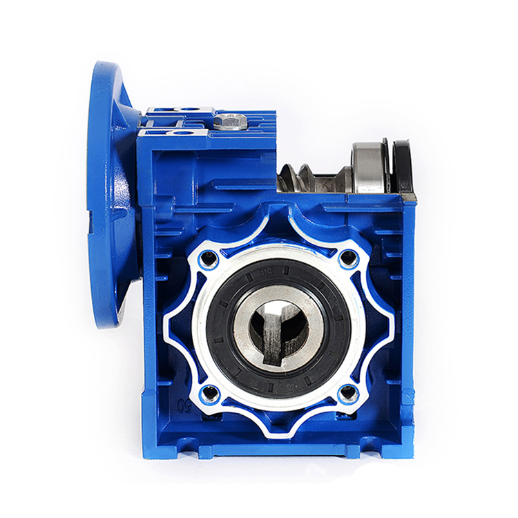 Wholesale NMRV worm gearbox  063 – 71B5 – motor 0.37kw output bore 25mm transmission  gear reductor