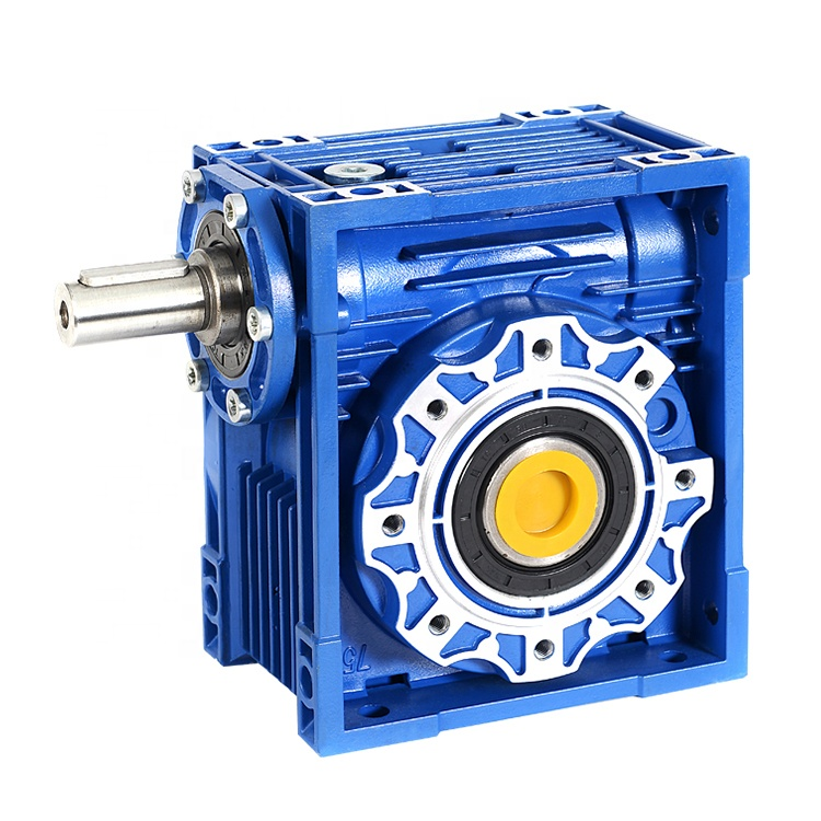 NMRV serye aluminyo worm gear speed reducer rv40 nmrv040 worm gearbox para sa conveying equipment