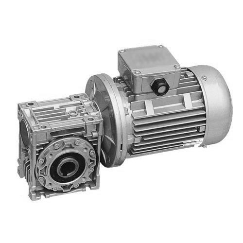 2019 aluminum shell reducer nmrv50 worm gearbox with electric motor