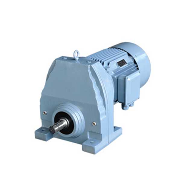 Devo R Series RX 37~157 rigid tooth flank single-stage foot-mounted helical gear reducer
