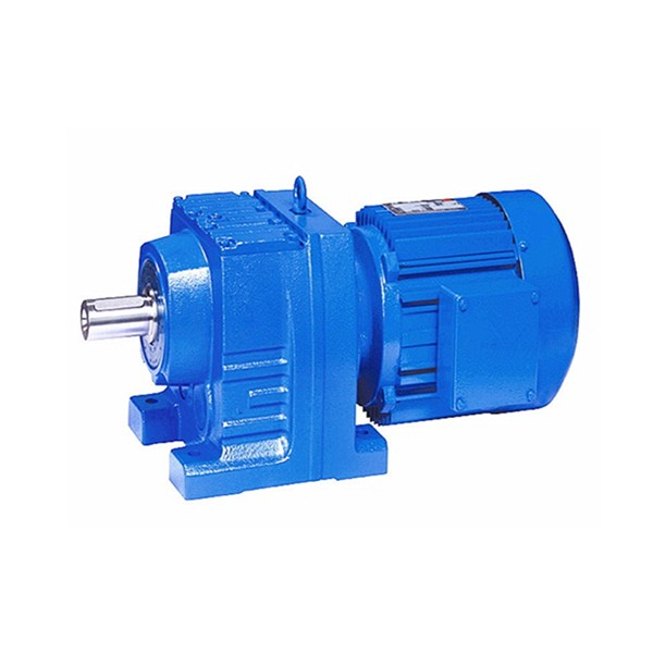 Devo R Series R87 rigid tooth flank foot-mounted helical gear reducer
