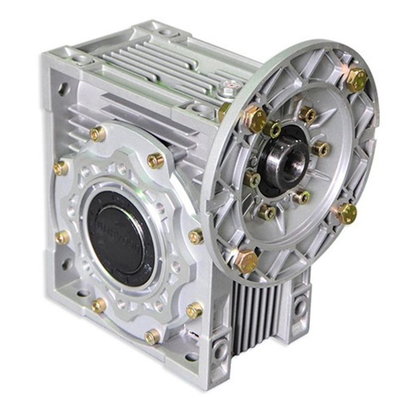 NMRV30 hollow shaft output, F1 output flange worm-gear reducer with IEC standard motor flange