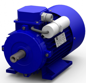 MS series aluminium housing 2 poles three phase asynchronous induction motor for mixers