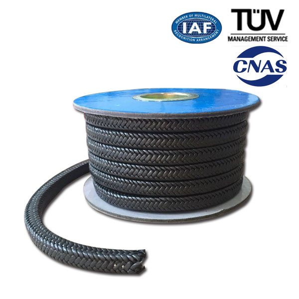 PTFE Graphite Braided Packing Featured duab